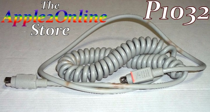 eBlueJay: Used ADB Coil Cable for Apple IIGS, Mac