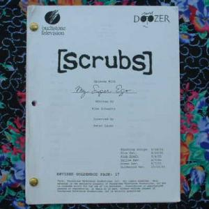 eBlueJay: 2 SCRUBS TV SHOW SCRIPTS Zach Braff, Sarah Chalke