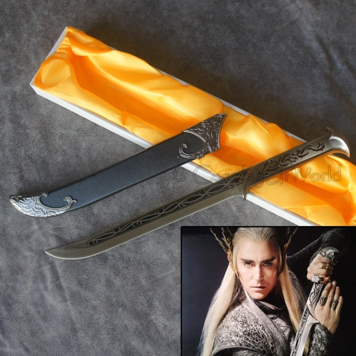 Ebluejay Lotr Lord Of The Rings Hobbit Thranduil Elven King Dagger