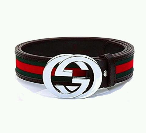 b28be1772 eBlueJay: Mens Red Black And Green GG Fashion Inspired Gucci Belt New