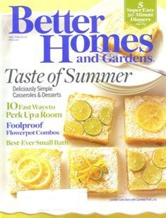 Ebluejay Better Homes And Gardens Magazine May 2008 Taste