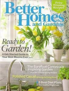 Ebluejay magazine better homes and gardens march 2009 ready to garden Better homes and gardens march