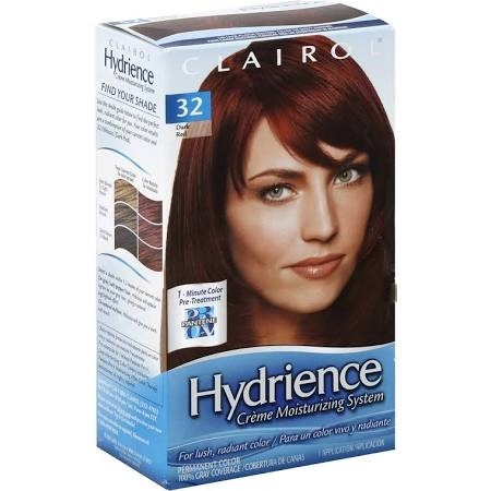 Ebluejay Clairol Hydrience Permanent Hair Color 32 Hibiscus Dark