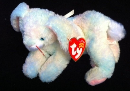 Ty 2002 Cottonball TY New Easter Bunny Rabbit Beanie BABY Free Shipping  008421045112 a7c727391f7a