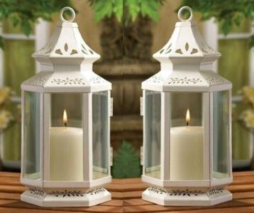 weddings 10 victorian style candle lantern centerpieces