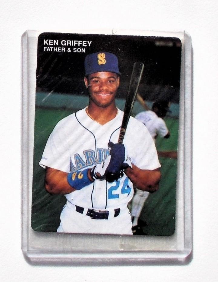 Ebluejay 1991 Mothers Cookies 24 Ken Griffey Jr Baseball