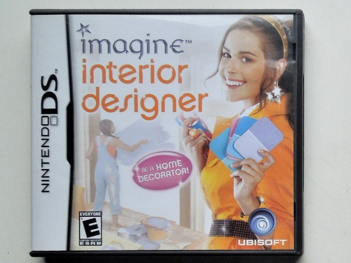 2006 Ubisoft Imagine Interior Designer For The Nintendo DS Game System