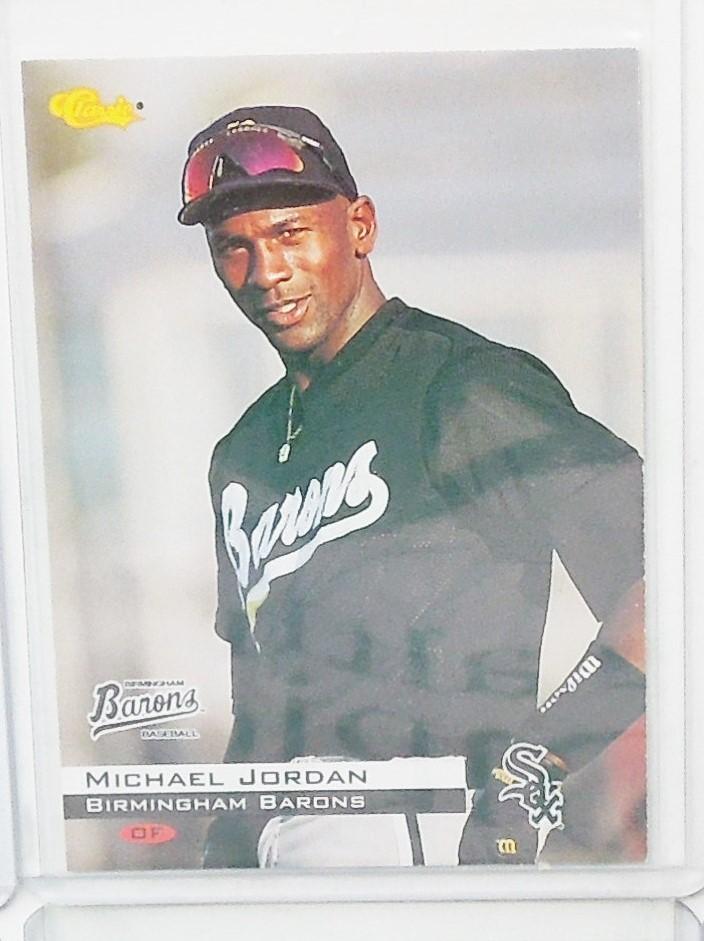 Ebluejay 1994 Classic 1 Michael Jordan Baseball Card