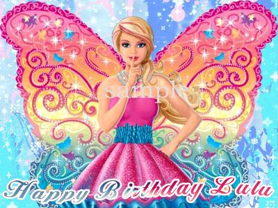 Barbie Fairy Secret Cake Topper