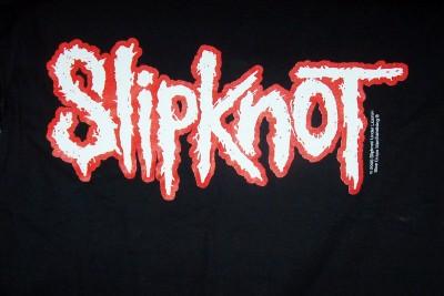 ebluejay slipknot t shirt medium black red white logo new