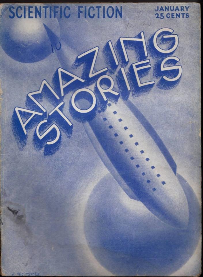7 NO10 JANUARY 1933 A SIGMOND ARTIST ART DECO RARE