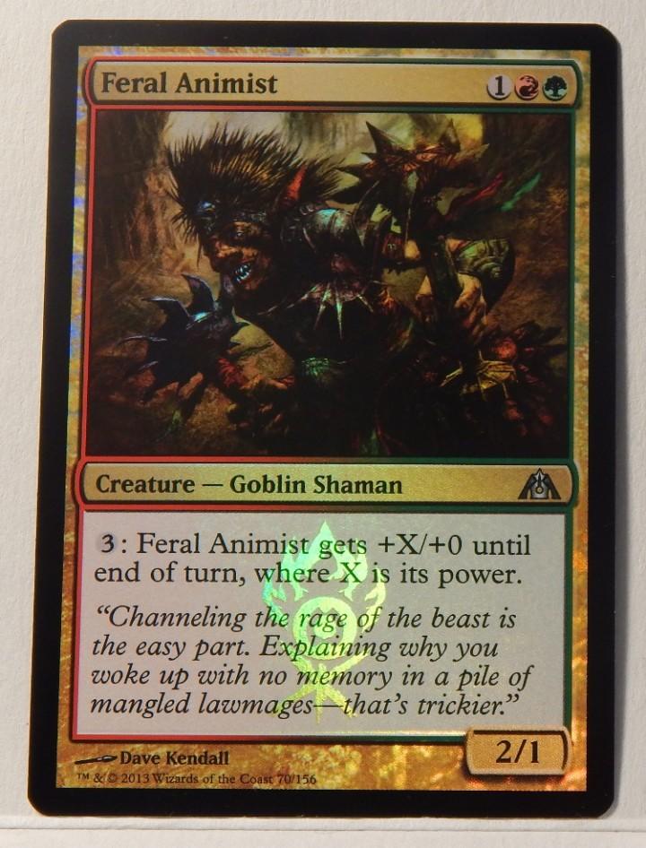 Foil MTG Dragon/'s Maze NM Give // Take