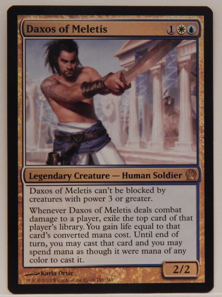 The Gathering MTG Theros Spear Of Heliod X4 M//NM Magic