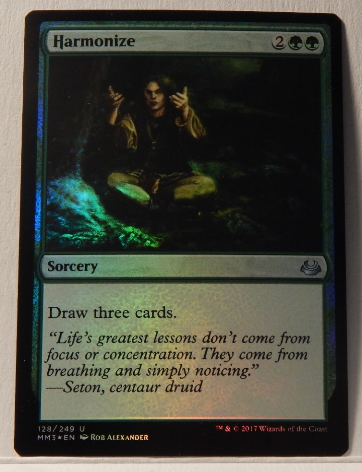 HARMONIZE X4 Modern Masters 2017 Magic MTG MINT CARD