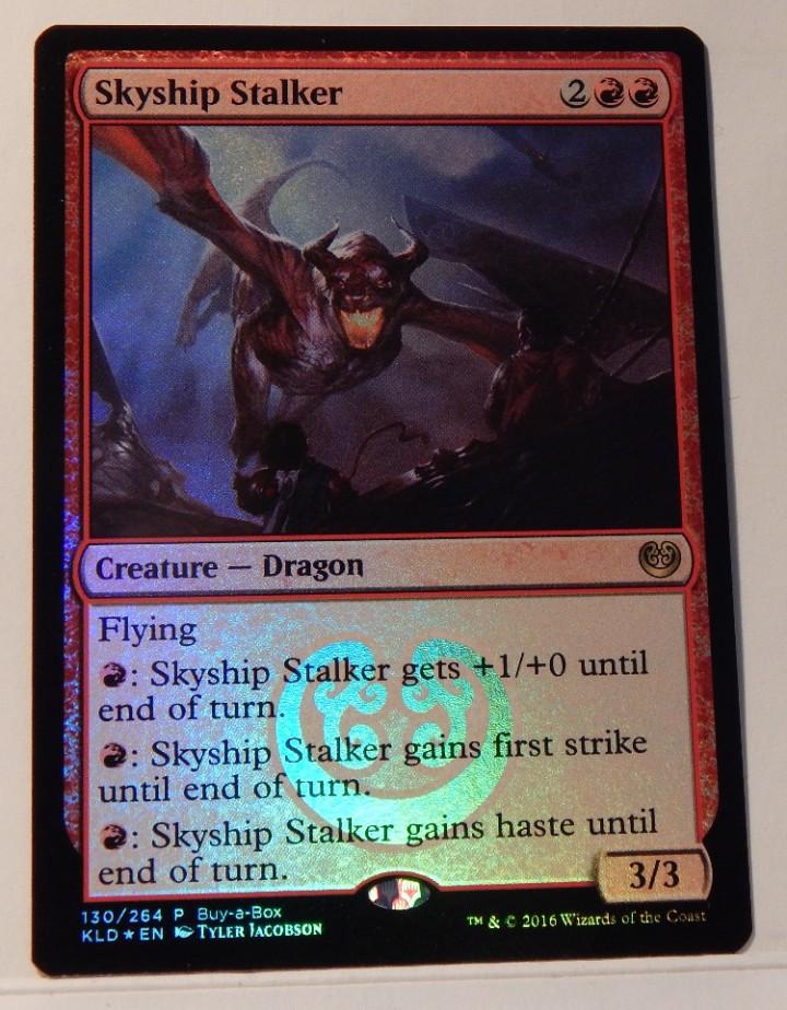 KLD Buy-a-Box ~ Magic Promos ~ MTG Magic 8 x NM Skyship Stalker
