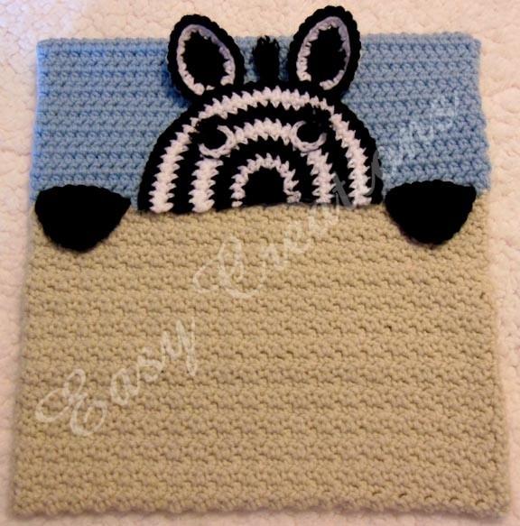 Ebluejay Peek A Zebra Pajama Pillow Pj Bag Instant Digital Download