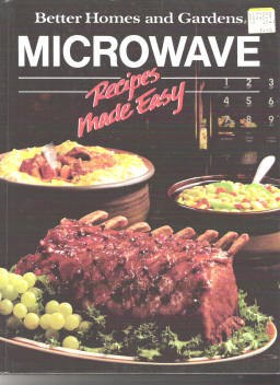ebluejay better homes and garden microwave recipes made