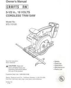 ebluejay craftsman owners manual 5 5 18 v cordless trim. Black Bedroom Furniture Sets. Home Design Ideas