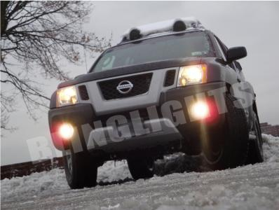 NISSAN XTERRA 2009 2010 XENON FOG LIGHTS LAMPS DRIVING LAMP LIGHT KIT X S  OFF ROAD FOGLIGHTS 09 10