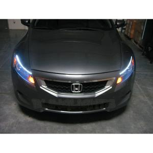 Honda Accord LED DRL Light Strips Headlamps Headlights Head Lamps Day Time  Running Strip Lights