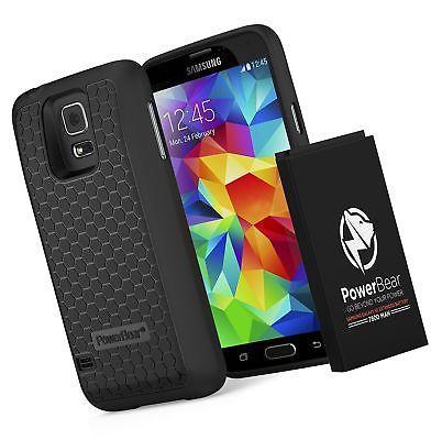 timeless design 4c115 0152d eBlueJay: PowerBear Samsung Galaxy S5 7800mAh Extended Battery ...