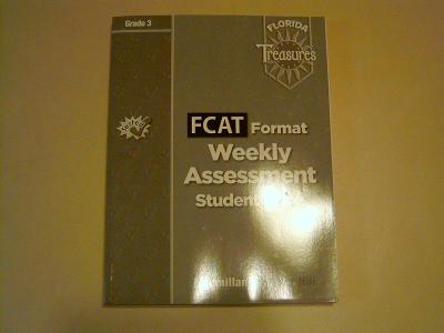EBlueJay FLORIDA Treasures FCAT Format Weekly Assessment