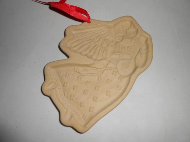 Ebluejay Vintage Brown Bag Cookie Art Angel Cookie Mold 1986