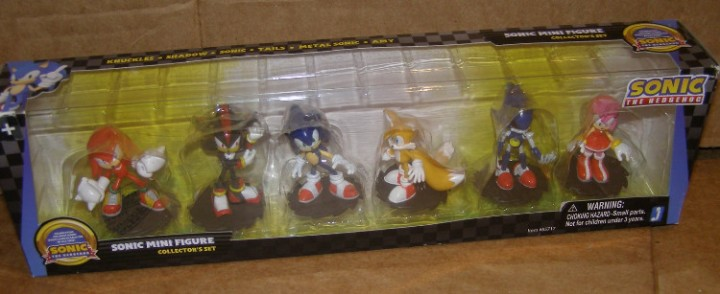 Ebluejay Htf Rare Sonic The Hedgehog Mini Figure Collection Jazwares Amy Shadow Knuckles Tails