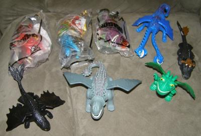 Ebluejay X8 How To Train Your Dragon Mcdonalds Happy Meal Toys