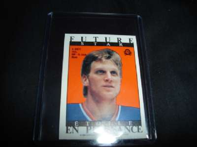 Ebluejay 1988 89 O Pee Chee Hockey Future Star Brett Hull