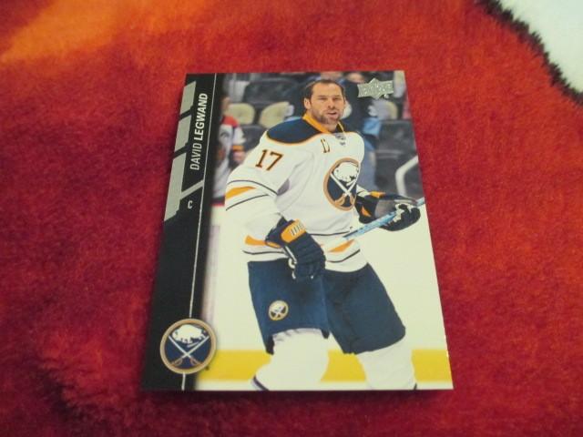 2015 16 Upperdeck Series 2 Hockey David Legwand Card 271 Buffalo Sabres