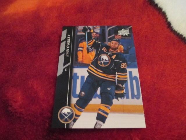 2015 16 Upperdeck Series 2 Hockey Ryan O& 39 Reilly Card 272 Buffalo Sabres