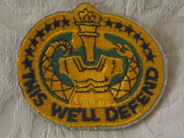 Subdued Badge This We/'ll Defend US Army Drill Sergeant Identification Badge