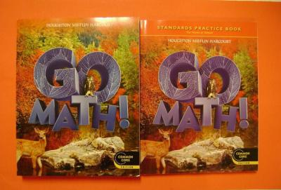 eBlueJay: Go Math! Student Edition with Practice Book Grade