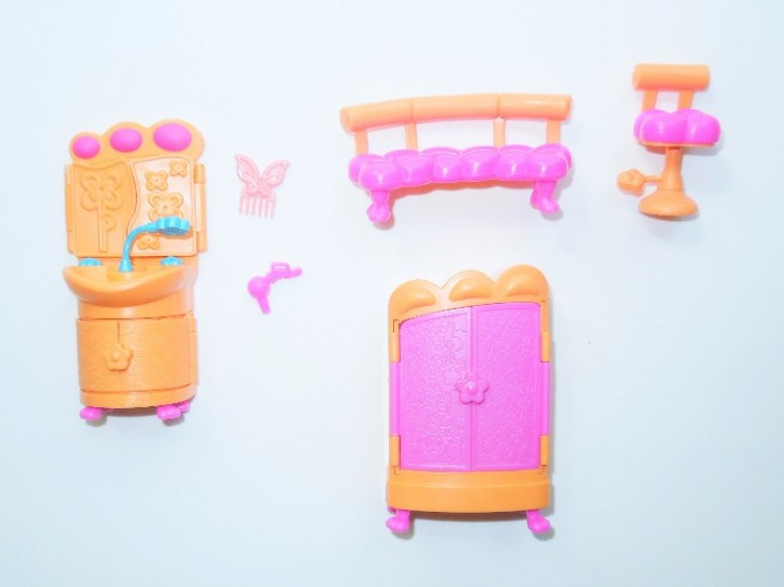 94a692335 eBlueJay  2006 Mattel Polly Pocket Replacement Orange   Pink House ...