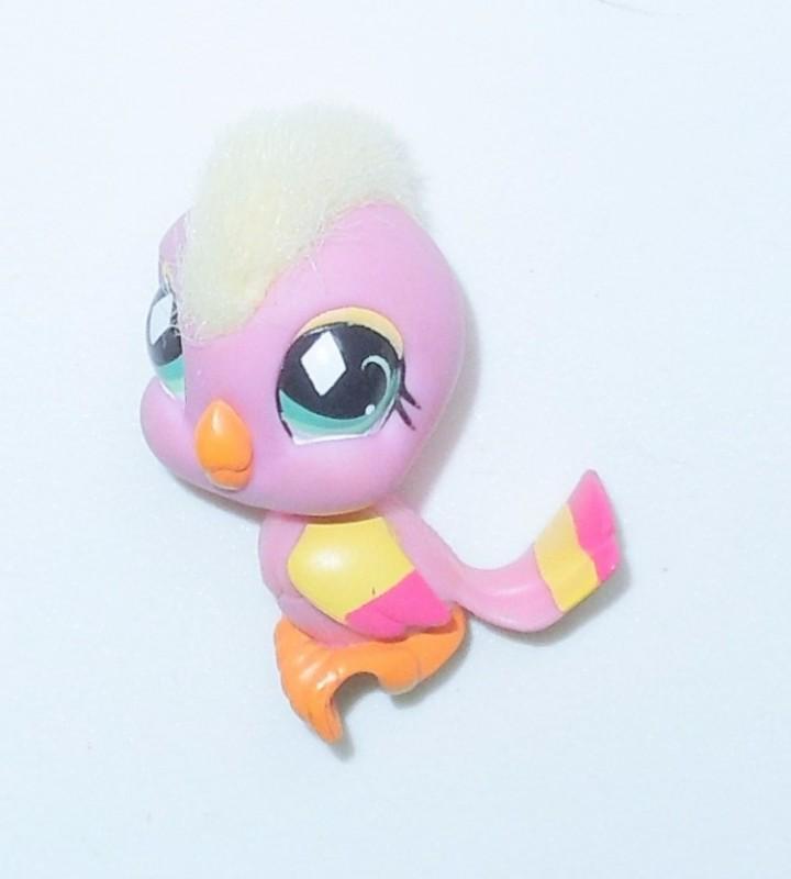 COCKATOO #489 Hasbro LPS Littlest Pet Shop