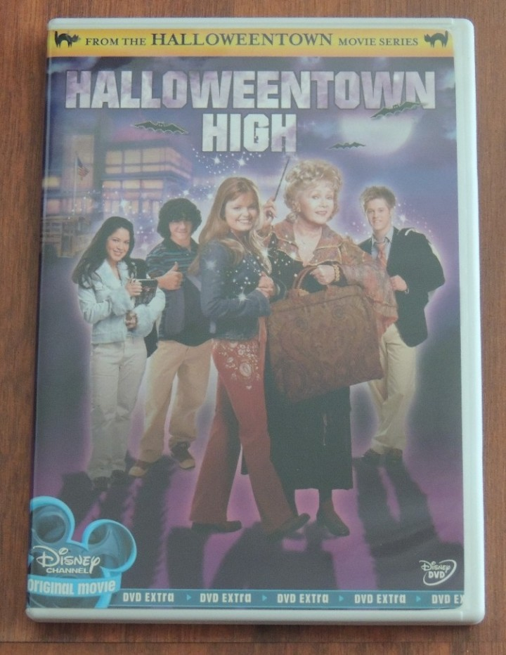 halloweentown high movie dvd disney channel original free shipping family very rare full screen