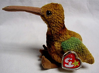 eBlueJay  TY BEANIE BABY - BEAK THE KIWI BIRD 684136ead86