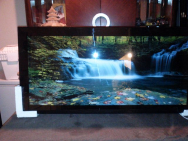 eBlueJay: Waterfall Moving Pictures Light & Sound Large Picture Frame