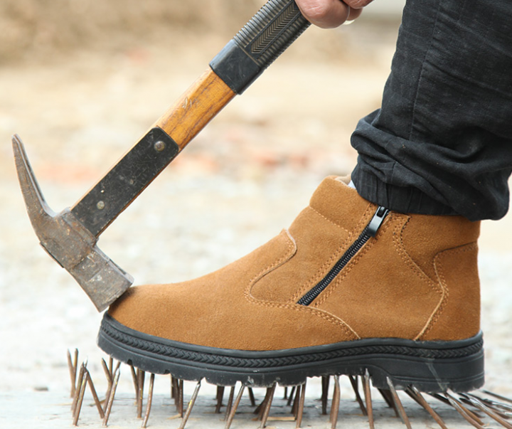 b58dacfae47 eBlueJay: Men's Leather Chukka Welder Shoes Steel Toe Welding Boots ...