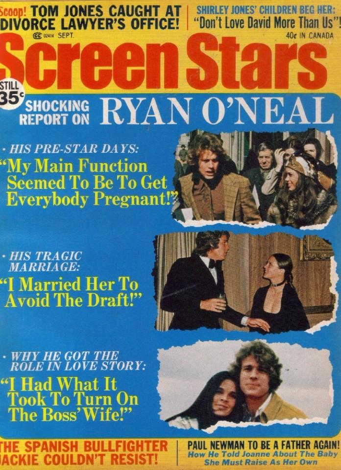 eBlueJay: Ryan O'Neal, Paul Newman, Tom Jones, Shirley Jones, Sue