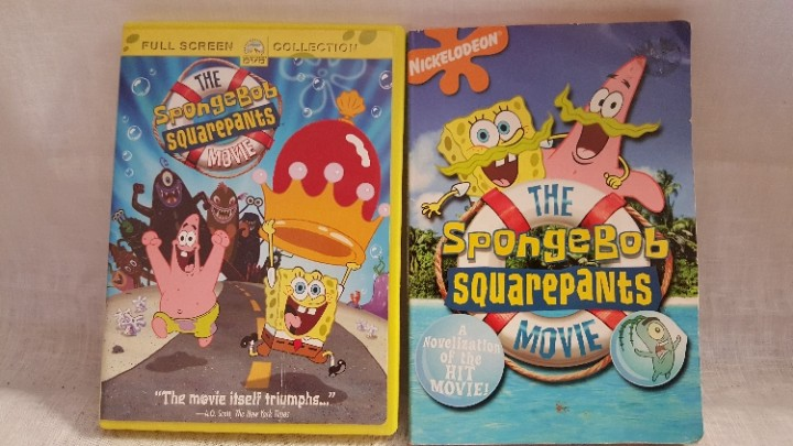 ebluejay spongebob squarepants movie gift set full feature dvd