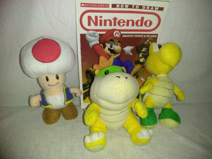Ebluejay Nintendo Super Mario Bros Gift Set Stuffed Figures Of