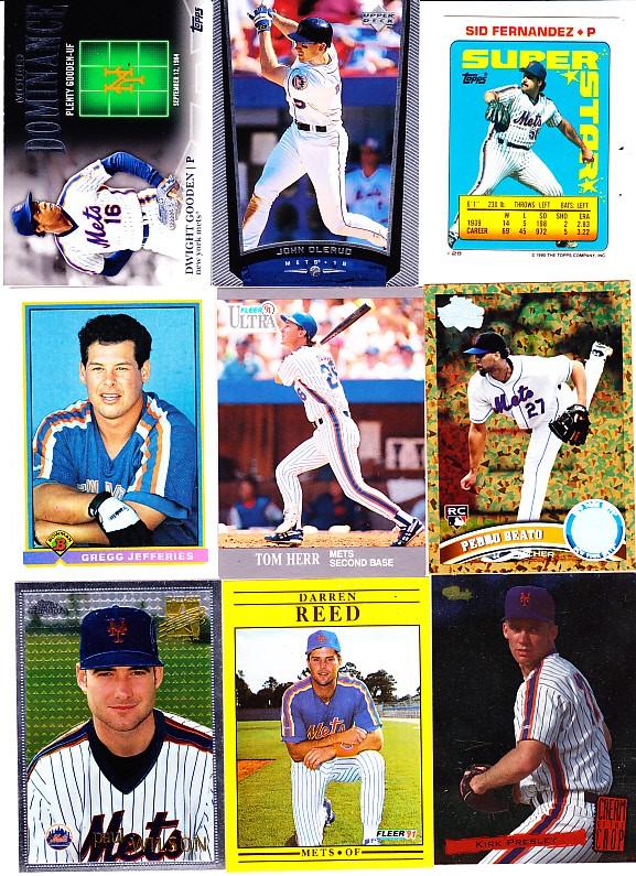 Ebluejay New York Mets Dwight Gooden John Olerud Sid Fernandez