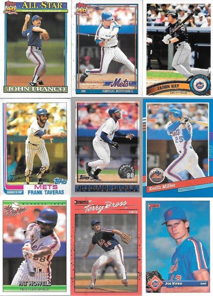 Ebluejay New York Mets John Franco Gregg Jefferies Jason Bay