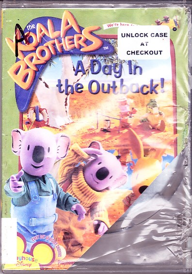 eBlueJay: The Koala Brothers, A Day In The Outback, DVD, 8