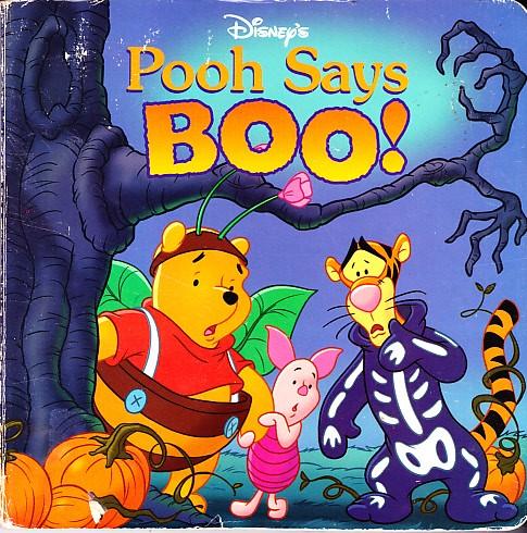 eBlueJay: Disney's Pooh Says Boo!, Mouse Works Hunny Pot Book ...