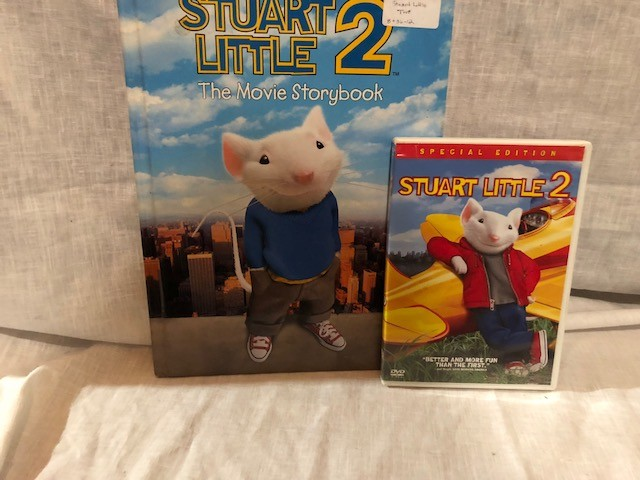 Ebluejay Stuart Little 2 Gift Set Feature Film Special Edition Dvd Hardcover Movie Storybook