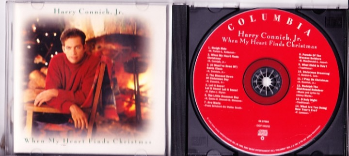 harry connick jr when my heart finds christmas cd sleigh ride blessed dawn of christmas day