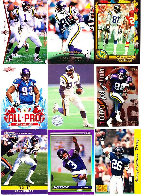 eBlueJay: Minnesota Vikings, Warren Moon, Cris Carter, Anthony